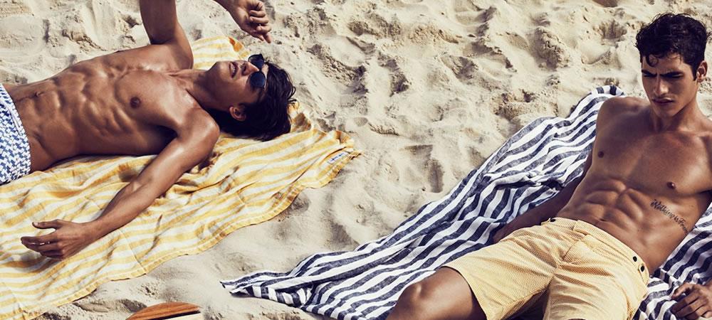 6 Key Men's Swimwear Trends For Spring/Summer 2019